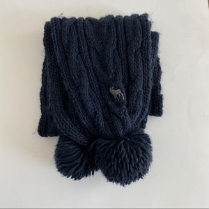 Abercrombie & Fitch Blue Scarf